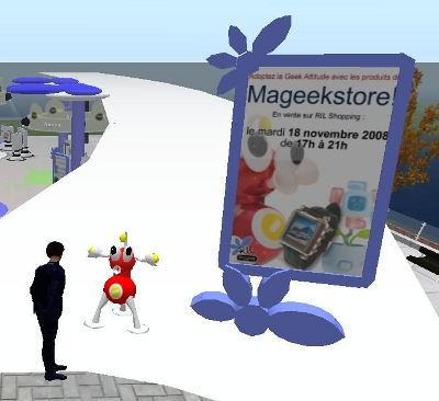 Mageekstore sur Second Life